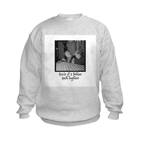 Quilt Together Kids Sweatshirt