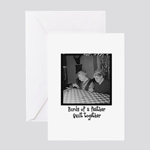 Quilt Together Greeting Card