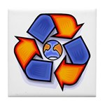 Recycle Tile Coaster