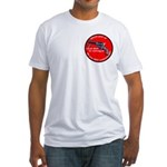 Infringement-4 Fitted T-Shirt