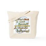 Labrador Believer Tote Bag