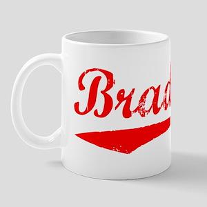 Vintage Bradford (Red) Mug