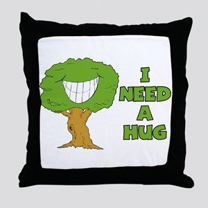 I Need A Hug Throw Pillow