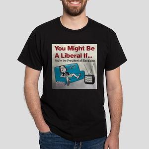 President of Slackistan Dark T-Shirt