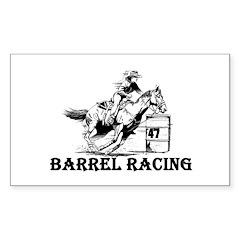 Barrels Rectangle Decal