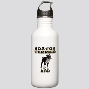 Boston Terrier Dad Stainless Water Bottle 1.0L
