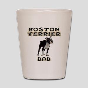 Boston Terrier Dad Shot Glass