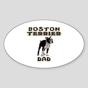 Boston Terrier Dad Sticker