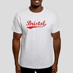 Vintage Bristol (Red) Light T-Shirt