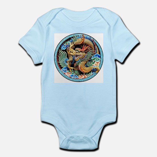 cool,oriental,chinese,japanese,dragon,pa Body Suit