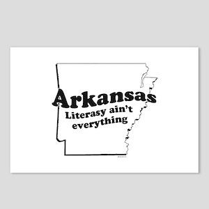 Arkansas - Literasy ain't everything ~  Postcards