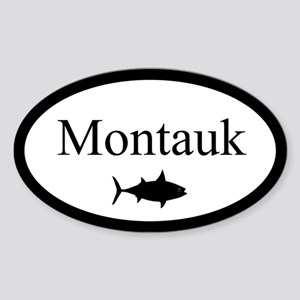 "False Albacore Destination"" Oval Sticker"