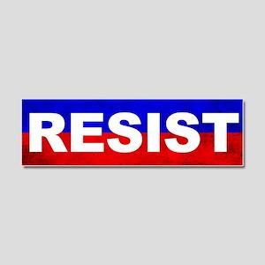 Resist Car Magnet 10 x 3