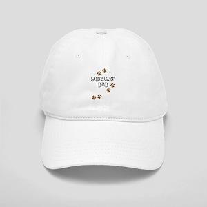 Paw Prints Schnauzer Dad Cap
