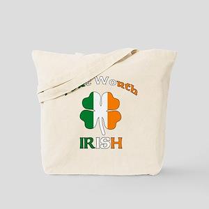 Fort Worth Irish Tote Bag