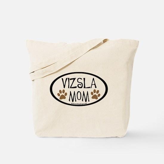 Vizsla Mom Oval Tote Bag