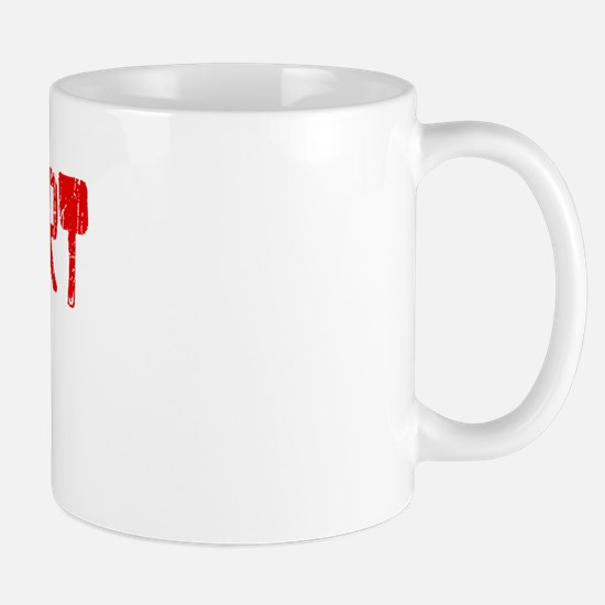 Rohnert Park Faded (Red) Mug
