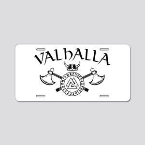 Valhalla Aluminum License Plate
