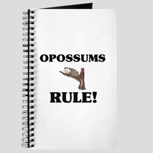 Opossum Habitat Notebooks - CafePress