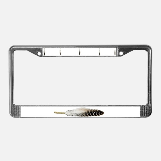 """Feather"" License Plate Frame"
