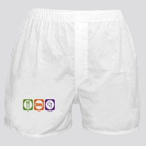 Eat Sleep Fix Stuff Boxer Shorts