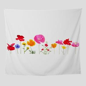 wild meadow flowers Wall Tapestry