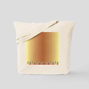 Passover Scene Tote Bag