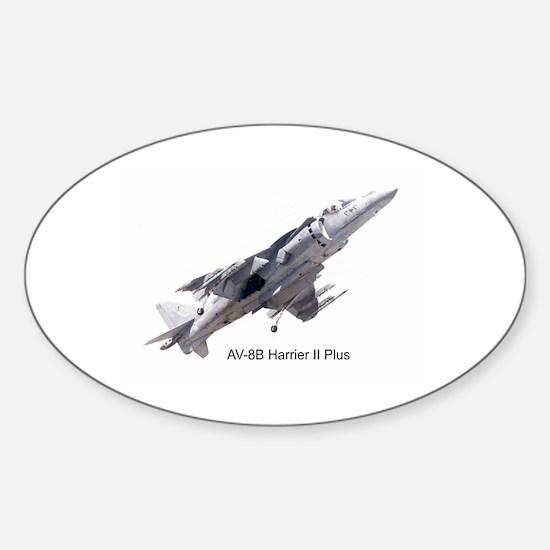 Harrier II Plus Oval Decal