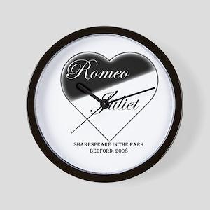 Romeo and Juliet 1 Wall Clock