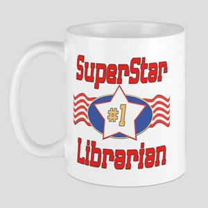 Superstar Librarian Mug