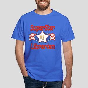Superstar Librarian Dark T-Shirt