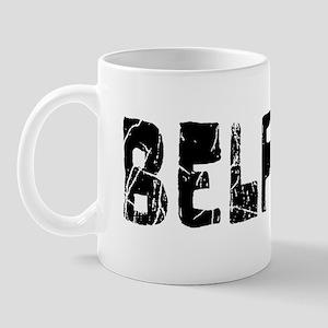 Belfast Faded (Black) Mug