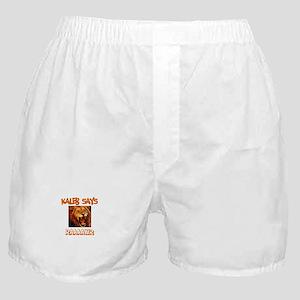 Kaleb Says Raaawr (Lion) Boxer Shorts