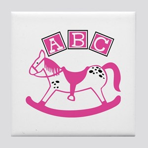 Rocking Horse Tile Coaster