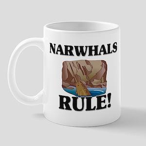 Narwhals Rule! Mug