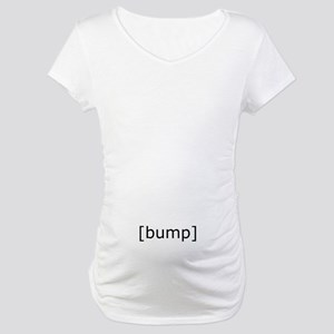 bump_low Maternity T-Shirt