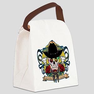 CALAVERA COWBOY Canvas Lunch Bag