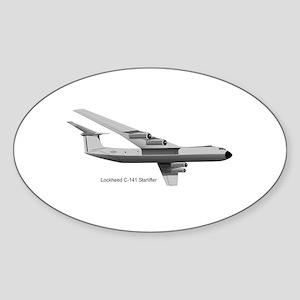 C-141 Starlifter Oval Sticker