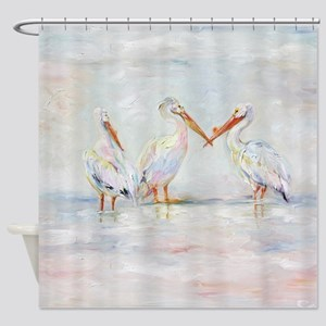 Compassion is Contagious Shower Curtain