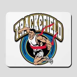 Track and Field Logo Mousepad