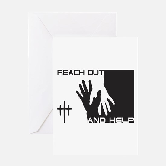 Reach Out & Help Greeting Card
