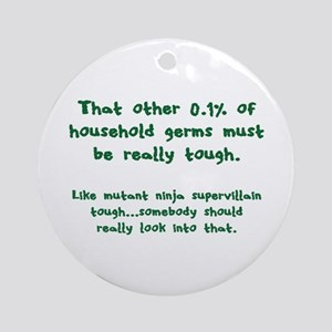 Tough Germs Ornament (Round)