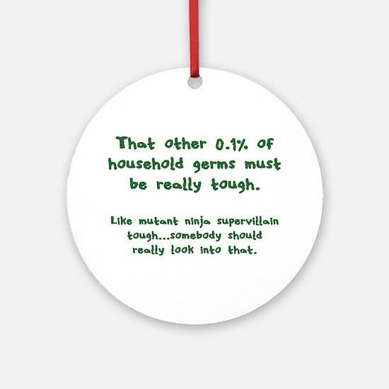 Tough Germs Ornament (Round)