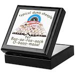 Baa-rack Obama Sheeple Keepsake Box