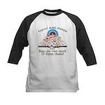 Baa-rack Obama Sheeple Kids Baseball Jersey