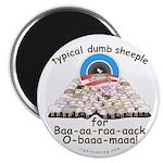 Baa-rack Obama Sheeple Magnet