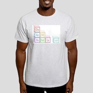 Do Re Mi Fa Sol La Ti Baby Blocks Light T-Shirt