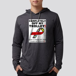 COMPLETELY OFF MY TROLLEY - AS Long Sleeve T-Shirt