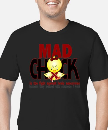 Brain Aneurysm Mad Chick 1 T-Shirt