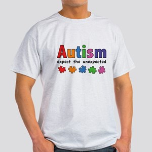 Autism Expect the unexpected White T-Shirt